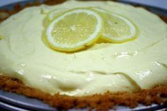 Creamy Lemonade Pie.  #lemon #pie