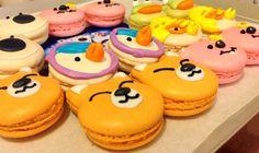 ⭐️Cute Macaron⭐️ by Love Macaroons  甜美瘋子 造型馬卡龍 冰鎮小企鵝 Pororo 10 Birthday, Birthday Party Themes, Birthday Ideas, Party Treats, Lets Celebrate, Cute Food, Cakes And More, Arctic, Penguin