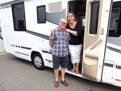 Keith & Susan from Daventry Northants have recently collected their brand new Chausson 728 motorhome from T C Motorhomes In Herne Bay Kent. Motorhome, Interior Styling, Recreational Vehicles, Model, Rv, Camper Tops, Scale Model, Truck Camper