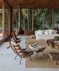 Sunken Living Room, Home Living Room, Living Spaces, Small Living Rooms, Living Room Modern, Living Room Decor, Home Interior Design, Interior Architecture, Interior And Exterior