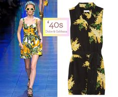 Dolce & Gabbana S/S 2012/Equipment, $280