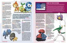 Pokemon 2-page spread