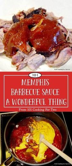 THE BEST BBQ SAUCE, EVER. This Memphis barbecue sauce would make cardboard taste great. I don't use the term