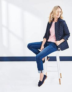 Buy our Straight Jean in Vintage Mid Wash for available in Vintage-mid-wash at Crew Clothing Company. For more WOMEN'S JEANS, visit Crew Clothing. Crew Clothing, Clothing Company, Women's Straight Jeans, Slim, Legs, Model, How To Wear, Cotton, Clothes
