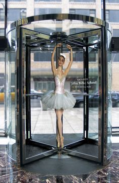 """Perfectly Poised, New York""  -  Jeffery Ballet School  