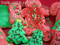 Mommy's Kitchen - Country Cooking & Family Friendly Recipes: Sugar Cookie Cut Out's {For Santa Claus}