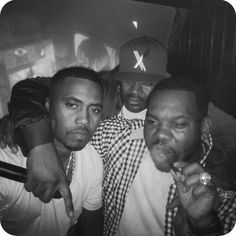 Nas, Ghostface Killer & Raekwon the Chef❤️