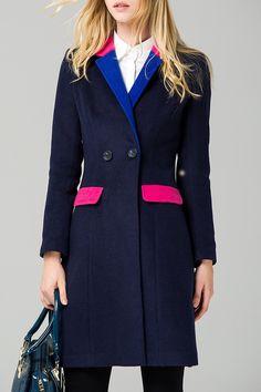 Color Block Coat