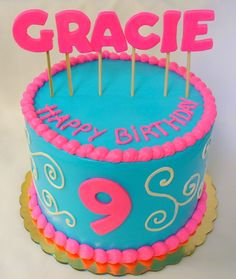 Celebrating Life Cakes - Image Gallery - Girl's Birthday Cake Pictures