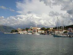 Fiskardo port Kefalonia Island #sailing #greece #May2014