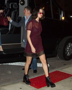 @selenagomez arriving to dinner in New York [September 12]  #SelenaGomez llegando a cenar en New York [Septiembre 12]  #Selena #Selenator #Selenators #Fans