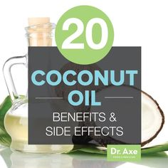 Coconut Oil Health Benefits and Side Effects Another of the amazing coconut oil benefits is that it increases calcium absorption in the gut. Research with osteoporosis has found that coconut oil not only increases bone volume and structure in subjects, but also decreased bone loss due to osteoporosis