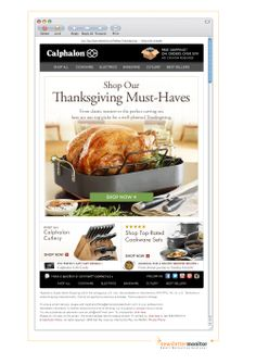 Brand: Calphalon | Subject: Everything You Need for the Perfect Thanksgiving Dinner