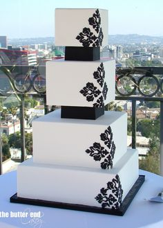 Splendid Wedding Cake Inspiration from The Butter End Cakery Part I. To see more: http://www.modwedding.com/2014/06/26/splendid-wedding-cake-inspiration-part-1/ #wedding #weddings #wedding_cake