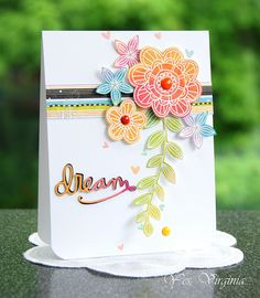 SSS Simon Says Stamp May Card Kit by Virginia (using Look For The Miracles stamps)