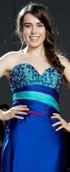 Strathallan Belle of the Ball 2014. Stunning colour combination! www.whitedoor.co.nz