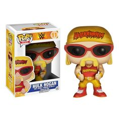 WWE Hulk Hogan Pop! Vinyl Figure - Funko - Sports: Wrestling - Pop! Vinyl Figures at Entertainment Earth
