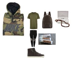 """""""Modern-Day Tomboy 3"""" by mariahsummers ❤ liked on Polyvore featuring NIKE, River Island, Cole Haan, UGG, DaVonna and modern"""