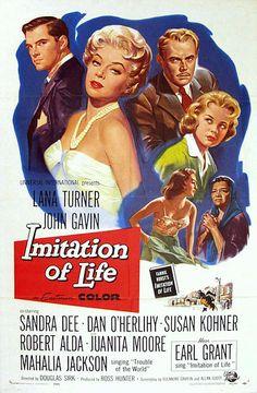 Imitation of Life 1959 Lana Turner, John Gavin, and Sandra Dee