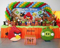 angry birds decoracion globos - Buscar con Google