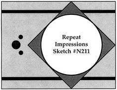 Repeat Impressions Sketch N211. Play along with our WHAT IF? Wednesday Sketch Challenges for your chance to win a Repeat Impressions gift certificate! - http://www.thehousethatstampsbuilt.com - #repeatimpressions #rubberstamps #cardmaking