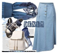 """""""For denim lovers"""" by ansev ❤ liked on Polyvore featuring Bobbi Brown Cosmetics, ASOS, Converse, Diesel and zaful"""