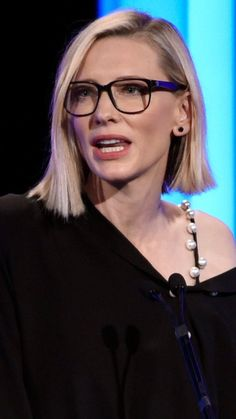 Cate Blanchett would make a perfect Rebecca Winkleman.