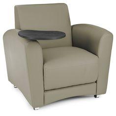 OFM InterPlay Series Model 821 Vinyl Single Seat Tablet Chair