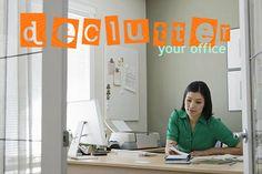 Declutter your office -- Amen. (via Julieverse/@Julie Meyers Pron)