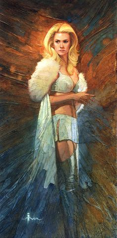 Emma Frost by Ivan Tao #XMen #WhiteQueen #Mutants