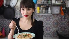 Recipe for Boeuf Bourguignon from The Little Paris Kitchen: Cooking with Rachel Khoo.she is my new favorite chef found on the Cooking Channel Rachel Khoo, Macarons, Prune Cake, Brown Butter Sauce, Paris Kitchen, Kitchen Tv, Spring Lambs, My Little Paris, Desserts