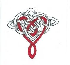 grey and red Celtic Pride, Celtic Symbols, Celtic Knots, Irish Celtic, Irish Tattoos, Celtic Tattoos, Leo Zodiac Tattoos, Celtic Knot Designs, Celtic Heart