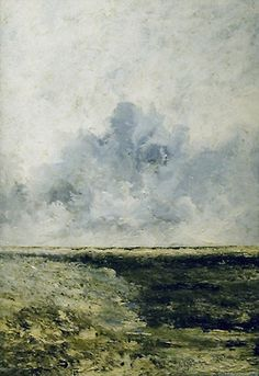 August Strindberg - Seascape, 1894