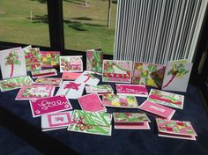 I made Lilly cards from my Lilly shopping bag using every part. Shopping Bag, Paper Crafts, Gift Wrapping, Craft Ideas, Cards, Gifts, Decor, Gift Wrapping Paper, Presents