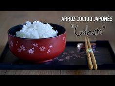 "Video de cocina disponible: Como preparar Arroz japonés ""Gohan""- How To Cook Japanese Rice Asian Recipes, Healthy Recipes, Asian Foods, Japanese Rice, Oriental Food, Spanish Food, World Recipes, Recipe For 4, Cooking Light"