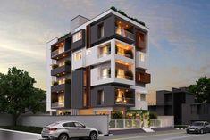Architecture Apartment Thirunelveli Side View