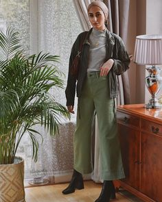 Ootd Hijab, Hijab Outfit, Modest Fashion, Hijab Fashion, Work Looks, Different, Street Wear, Amelia, Spring