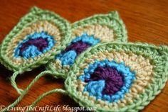 How To Make a Crochet Peacock Afghan Blanket