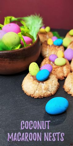 Recipe Videos, Food Videos, Coconut Macaroons, Smoothies, Nest, Delish, Biscuits, African, Cookies
