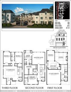 Three Story Home Plans | 772 Best 3 Story Th Plan Images In 2019 Floor Plans Home Plants