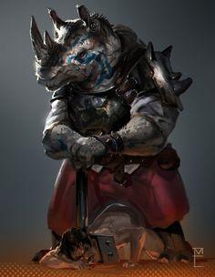 ArtStation - Rhino-slavehunter, Max Emmert