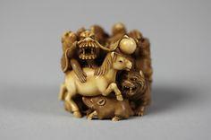 Netsuke of Group of Animals, 19th century