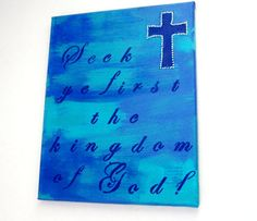 Check out this item in my Etsy shop https://www.etsy.com/listing/241833812/christian-decor-religious-wall-decor