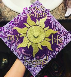43 DIY Graduation Cap Ideas That Will Majorly Inspire You Graduation Cap Quote Ideas Disney Graduation Cap, Graduation Cap Designs, Graduation Cap Decoration, Graduation Diy, Graduation Invitations, Quotes For Graduation Caps, Funny Graduation Caps, Graduation Announcements, Grad Hat