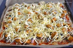 Pizza domowa Tzatziki, Frittata, Cabbage, Curry, Vegetables, Food, Curries, Essen, Cabbages