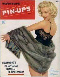 Modern Screen Pin-Ups 1953 Marilyn Monroe