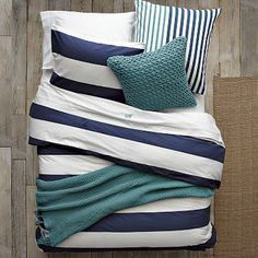 Layered Bed Looks - Rest Azure on westelm.com