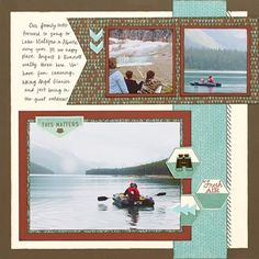 Close To My Heart - Jackson layout R page by Shelly Nemitz