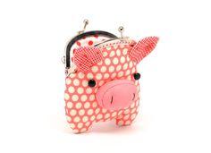 Piggy change purse :)