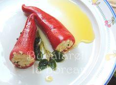 Bucătăreli la borcan: Marinată de ardei iuți umpluți cu brânză